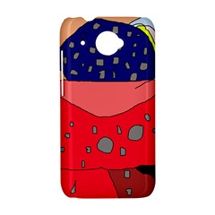 Playful abstraction HTC Desire 601 Hardshell Case
