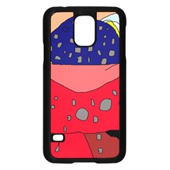 Playful abstraction Samsung Galaxy S5 Case (Black)