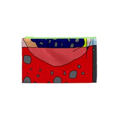 Playful abstraction Cosmetic Bag (XS)