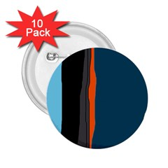 Colorful lines  2.25  Buttons (10 pack)