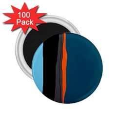 Colorful lines  2.25  Magnets (100 pack)