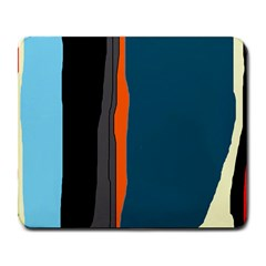 Colorful lines  Large Mousepads