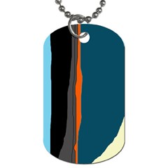Colorful lines  Dog Tag (Two Sides)