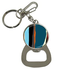 Colorful lines  Bottle Opener Key Chains
