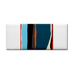 Colorful lines  Hand Towel