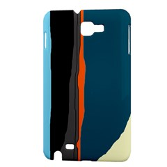 Colorful lines  Samsung Galaxy Note 1 Hardshell Case