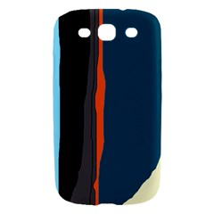 Colorful lines  Samsung Galaxy S III Hardshell Case