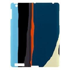 Colorful lines  Apple iPad 3/4 Hardshell Case