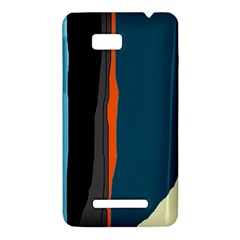 Colorful lines  HTC One SU T528W Hardshell Case