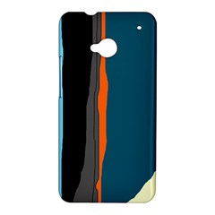 Colorful lines  HTC One M7 Hardshell Case