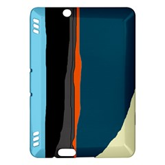 Colorful lines  Kindle Fire HDX Hardshell Case