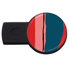 Decorative lines USB Flash Drive Round (1 GB)