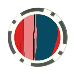 Decorative lines Poker Chip Card Guards