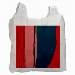 Decorative lines Recycle Bag (Two Side)