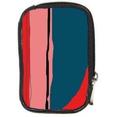 Decorative lines Compact Camera Cases