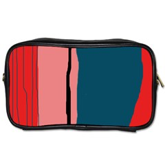 Decorative lines Toiletries Bags