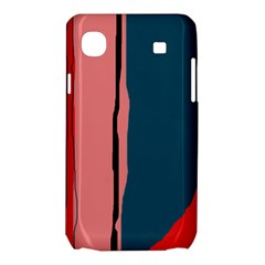 Decorative lines Samsung Galaxy SL i9003 Hardshell Case