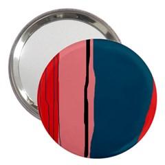 Decorative lines 3  Handbag Mirrors
