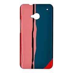 Decorative lines HTC One M7 Hardshell Case