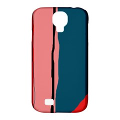 Decorative lines Samsung Galaxy S4 Classic Hardshell Case (PC+Silicone)
