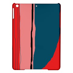 Decorative lines iPad Air Hardshell Cases