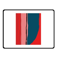 Decorative lines Double Sided Fleece Blanket (Small)