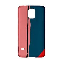 Decorative lines Samsung Galaxy S5 Hardshell Case