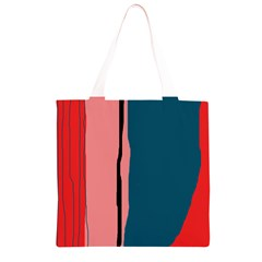 Decorative lines Grocery Light Tote Bag