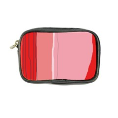Red and pink lines Coin Purse