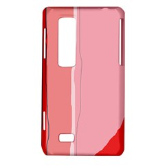 Red and pink lines LG Optimus Thrill 4G P925