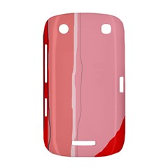 Red and pink lines BlackBerry Curve 9380