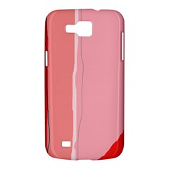 Red and pink lines Samsung Galaxy Premier I9260 Hardshell Case