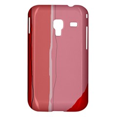 Red and pink lines Samsung Galaxy Ace Plus S7500 Hardshell Case