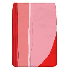 Red and pink lines Flap Covers (S)
