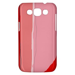 Red and pink lines Samsung Galaxy Win I8550 Hardshell Case