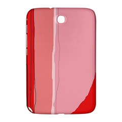 Red and pink lines Samsung Galaxy Note 8.0 N5100 Hardshell Case