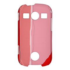Red and pink lines Samsung Galaxy S7710 Xcover 2 Hardshell Case