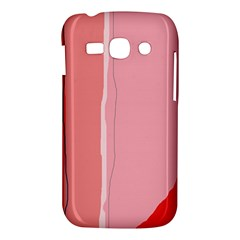 Red and pink lines Samsung Galaxy Ace 3 S7272 Hardshell Case
