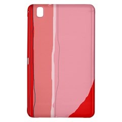Red and pink lines Samsung Galaxy Tab Pro 8.4 Hardshell Case
