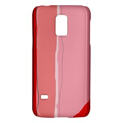 Red and pink lines Galaxy S5 Mini