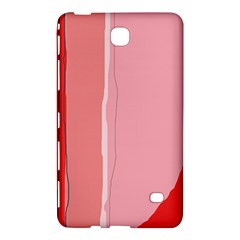 Red and pink lines Samsung Galaxy Tab 4 (7 ) Hardshell Case