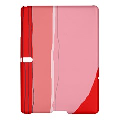 Red and pink lines Samsung Galaxy Tab S (10.5 ) Hardshell Case