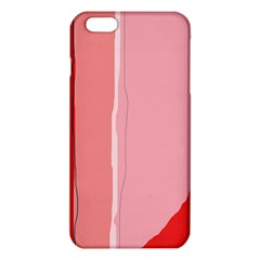 Red and pink lines iPhone 6 Plus/6S Plus TPU Case