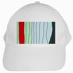 Decorative lines White Cap