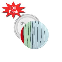 Decorative lines 1.75  Buttons (100 pack)