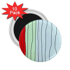Decorative lines 2.25  Magnets (10 pack)