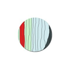 Decorative lines Golf Ball Marker (4 pack)