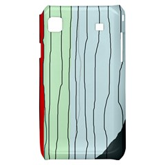 Decorative lines Samsung Galaxy S i9000 Hardshell Case