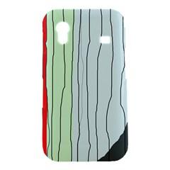 Decorative lines Samsung Galaxy Ace S5830 Hardshell Case