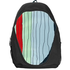 Decorative lines Backpack Bag